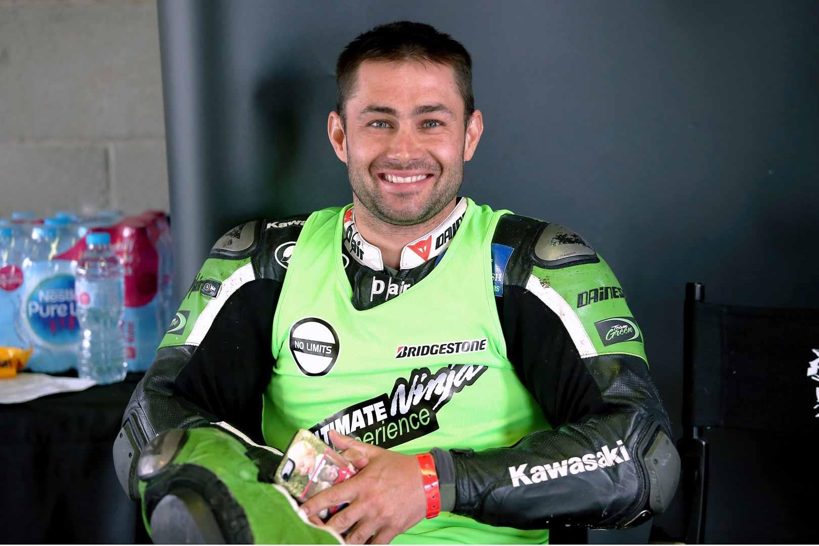 Leon Haslam will be in attendance