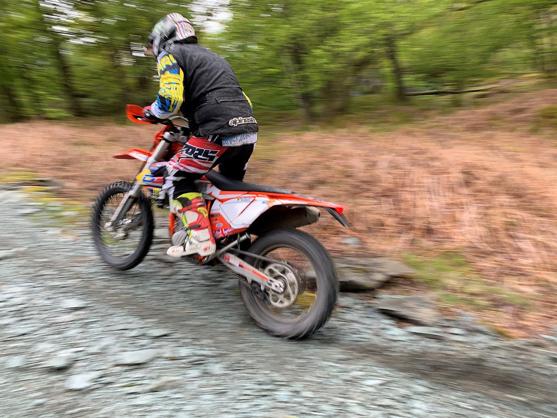 John McGuinness rocky ascent