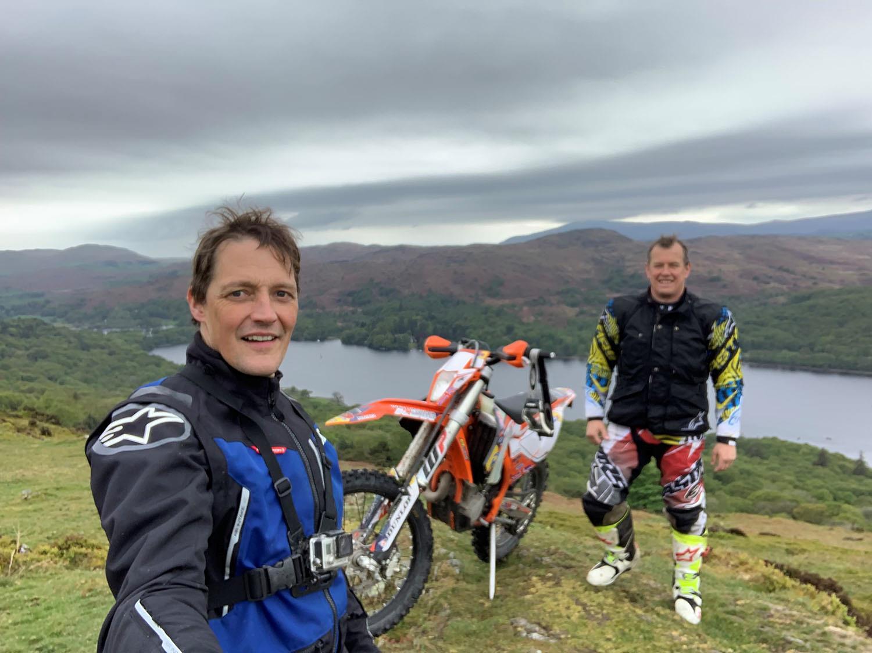 John McGuinness Michael Guy selfie