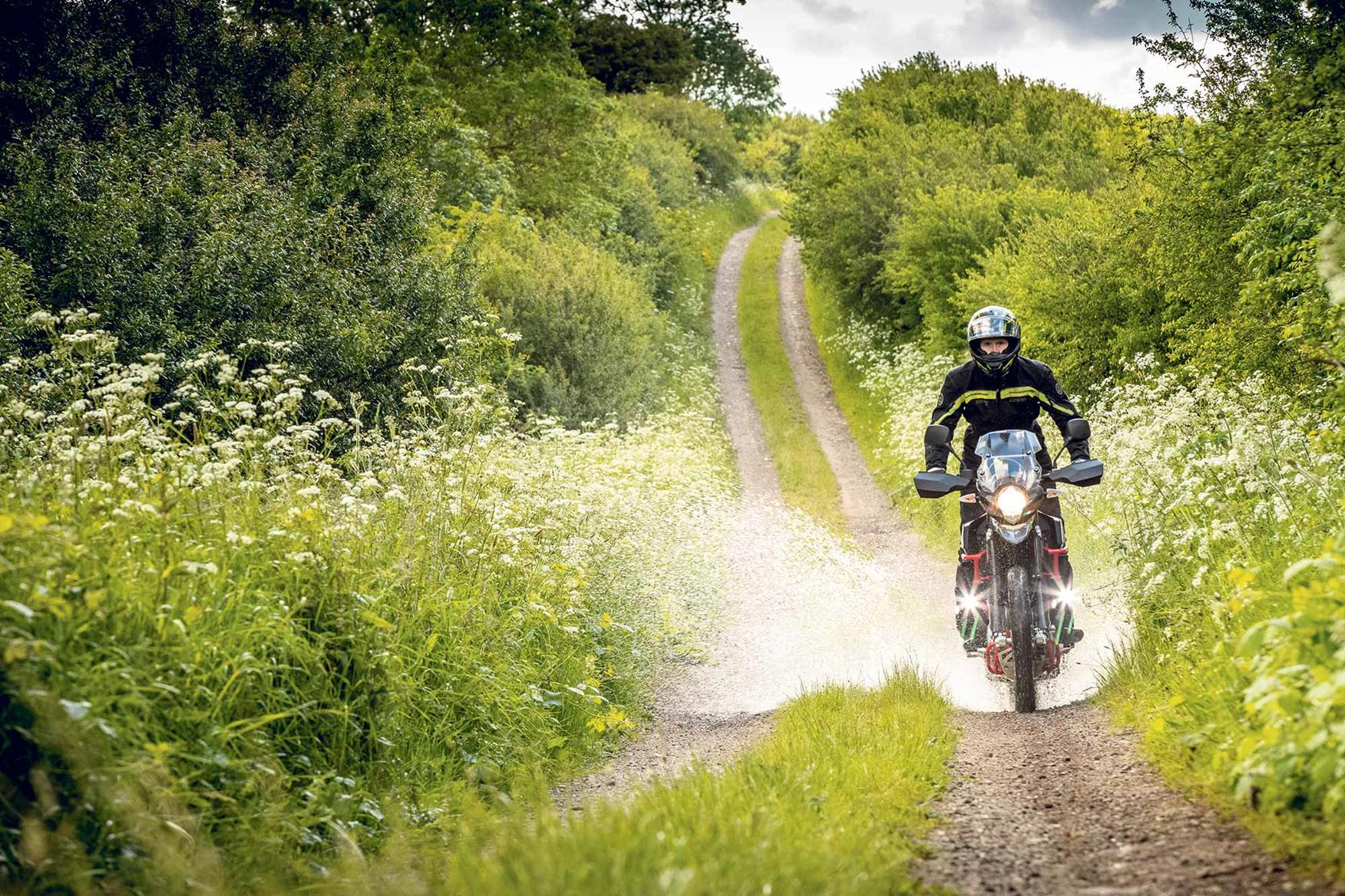 Off-roading on the SWM SuperDual X