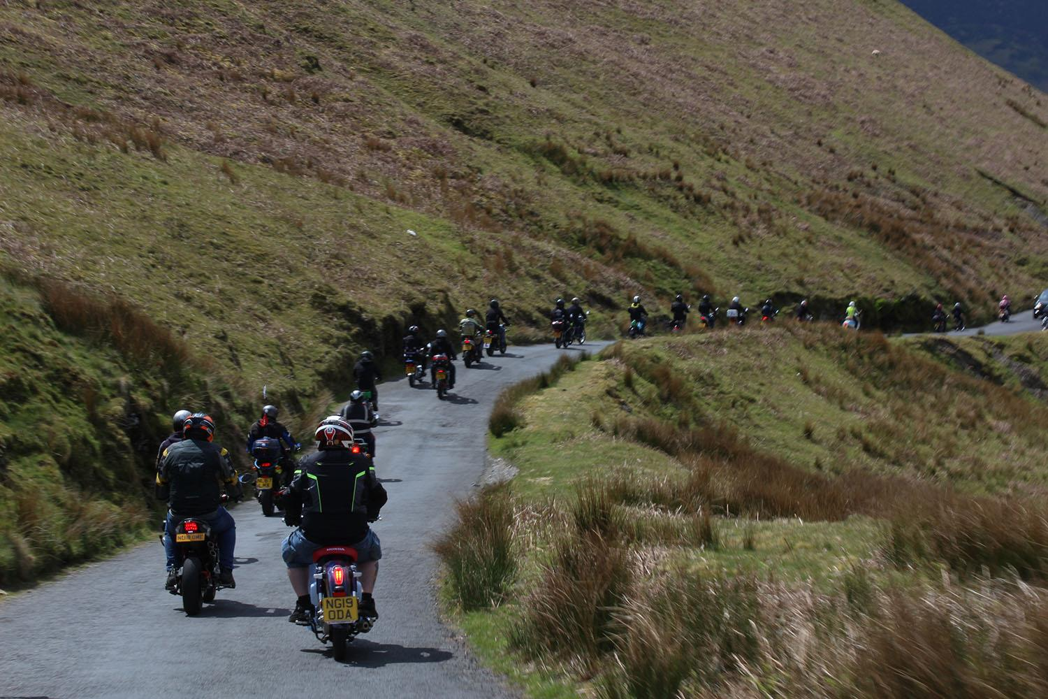 Northern Ningers group ride