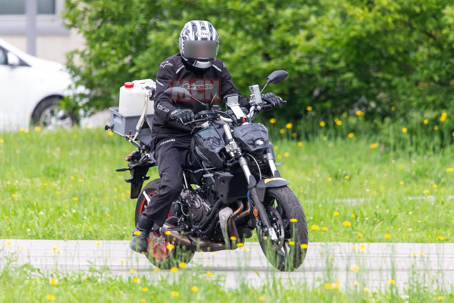 New Yamaha MT-07 expected 2021