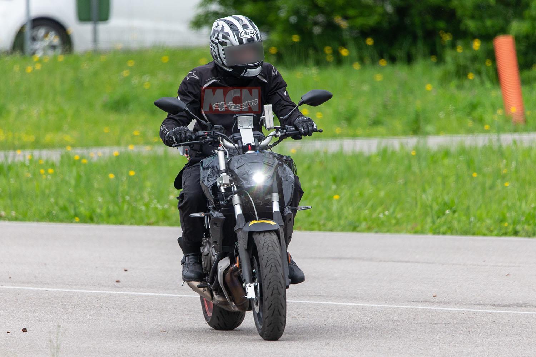 Yamaha MT-07 gets new headlight