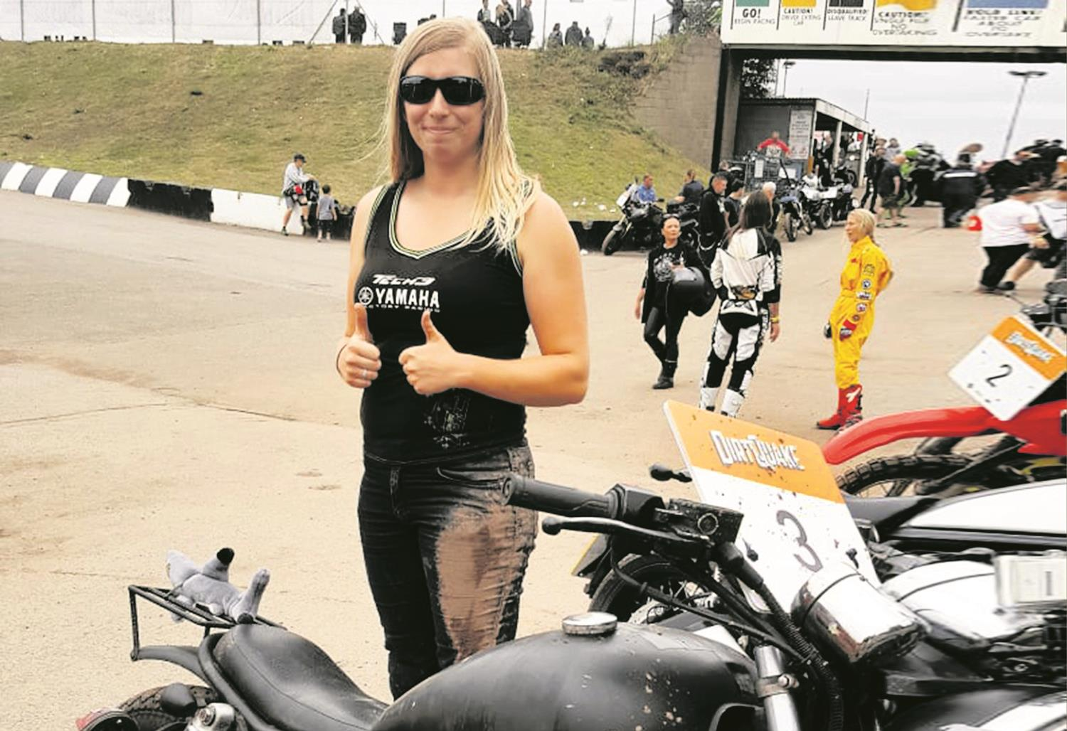 Lucy Biswell at DirtQuake
