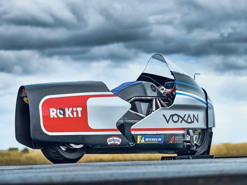 Voxan Wattman electric bike