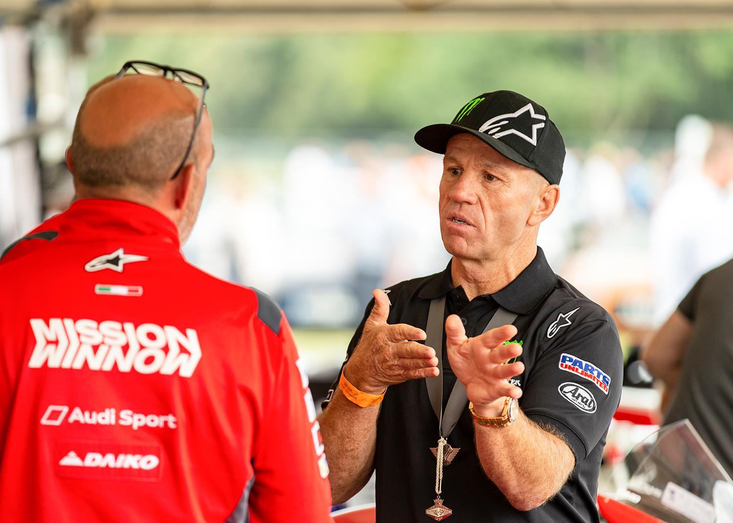 Randy Mamola discusses the Ducati Desmosedici GP12 two seater