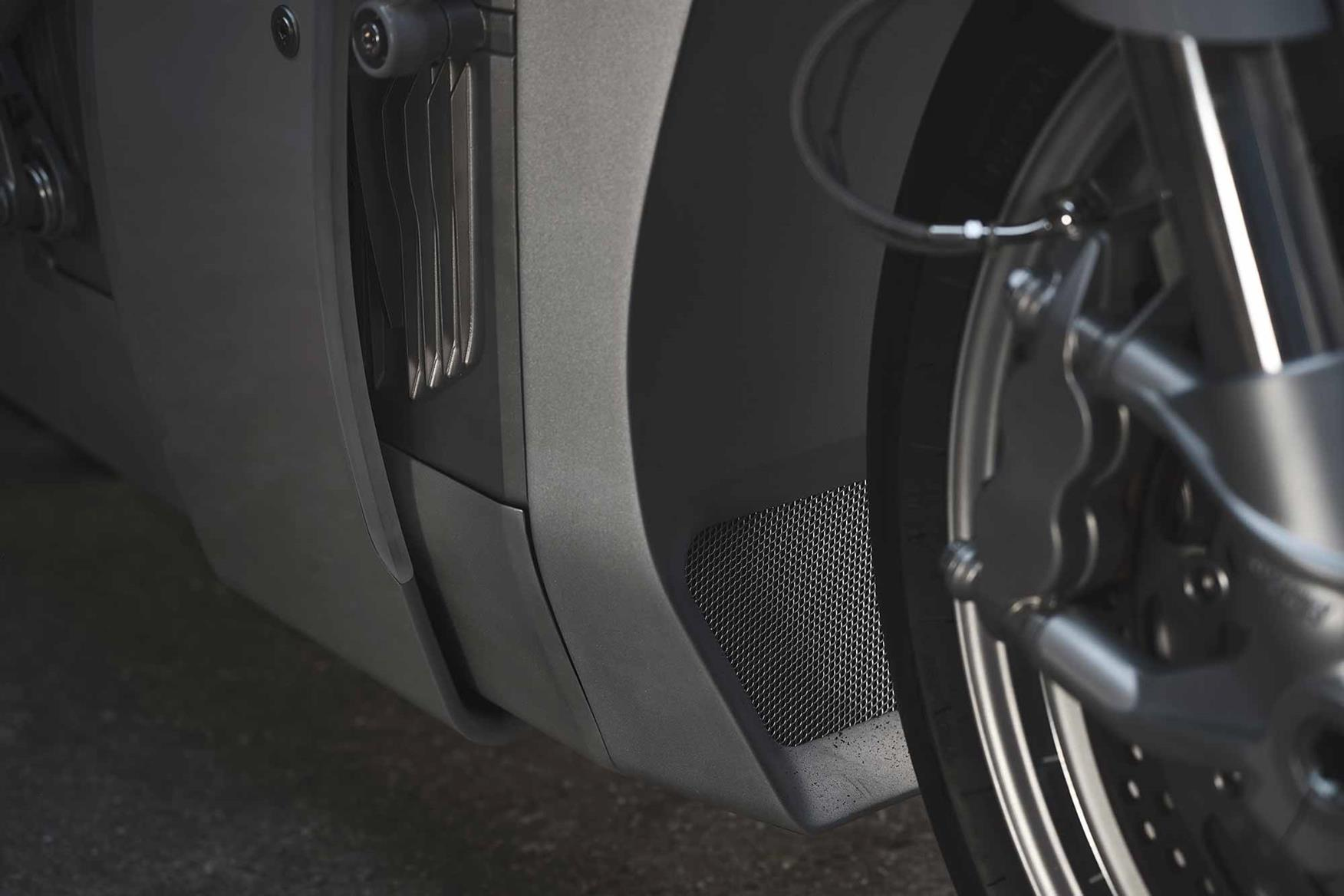 Zero XP front brake caliper. Credit: Ludovic Robert
