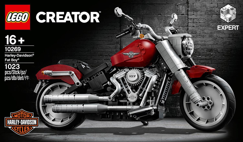 LEGO Launch Harley-Davidson Fat Boy Model
