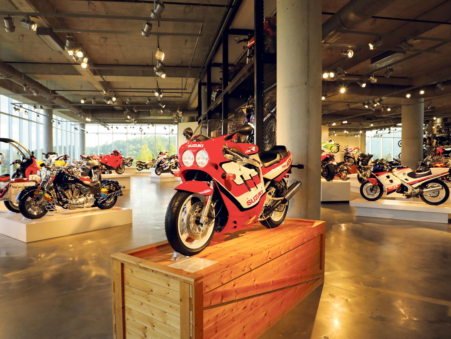 Inside the Barber Vintage Motorsport Museum there's a huge amount to see - image from MCN's feature in 2018
