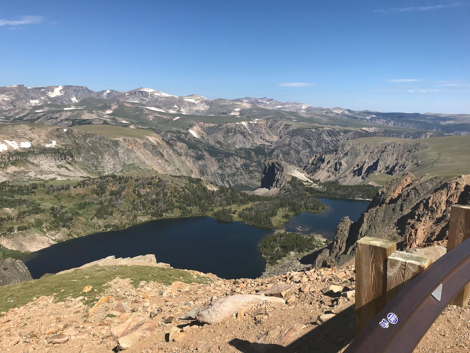 The view from Beartooth Pass is unmissable