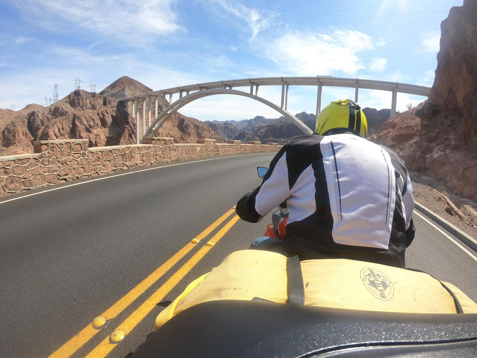 Hoover Dam approach road
