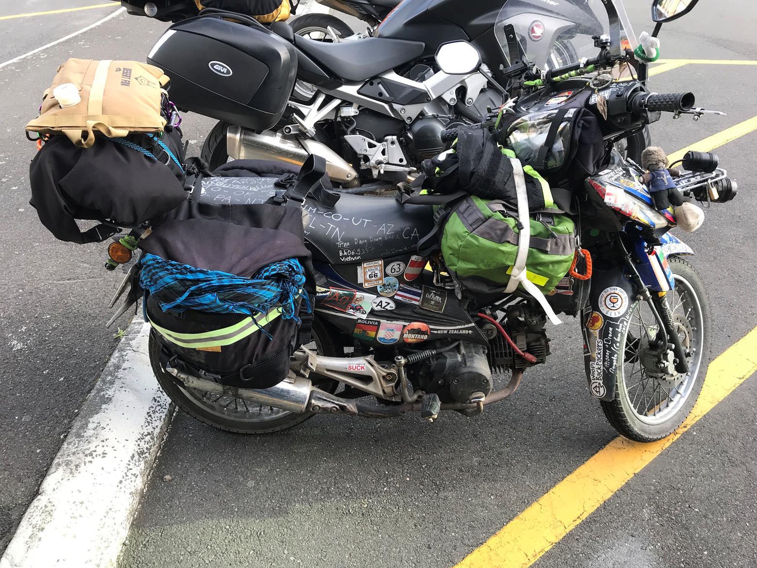 Khao's bike