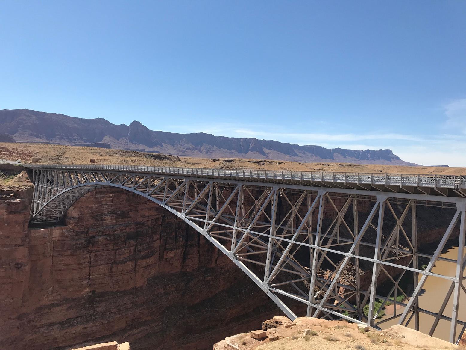 The Navajo Bridge