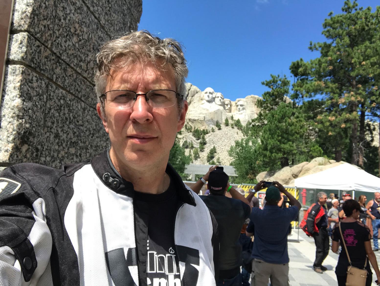 Simon at Mount Rushmoor