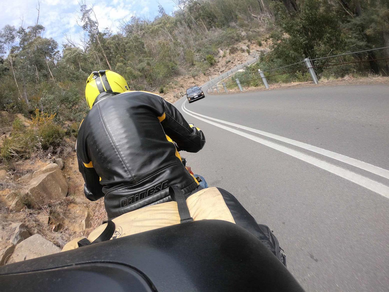 Riding St Marys Pass