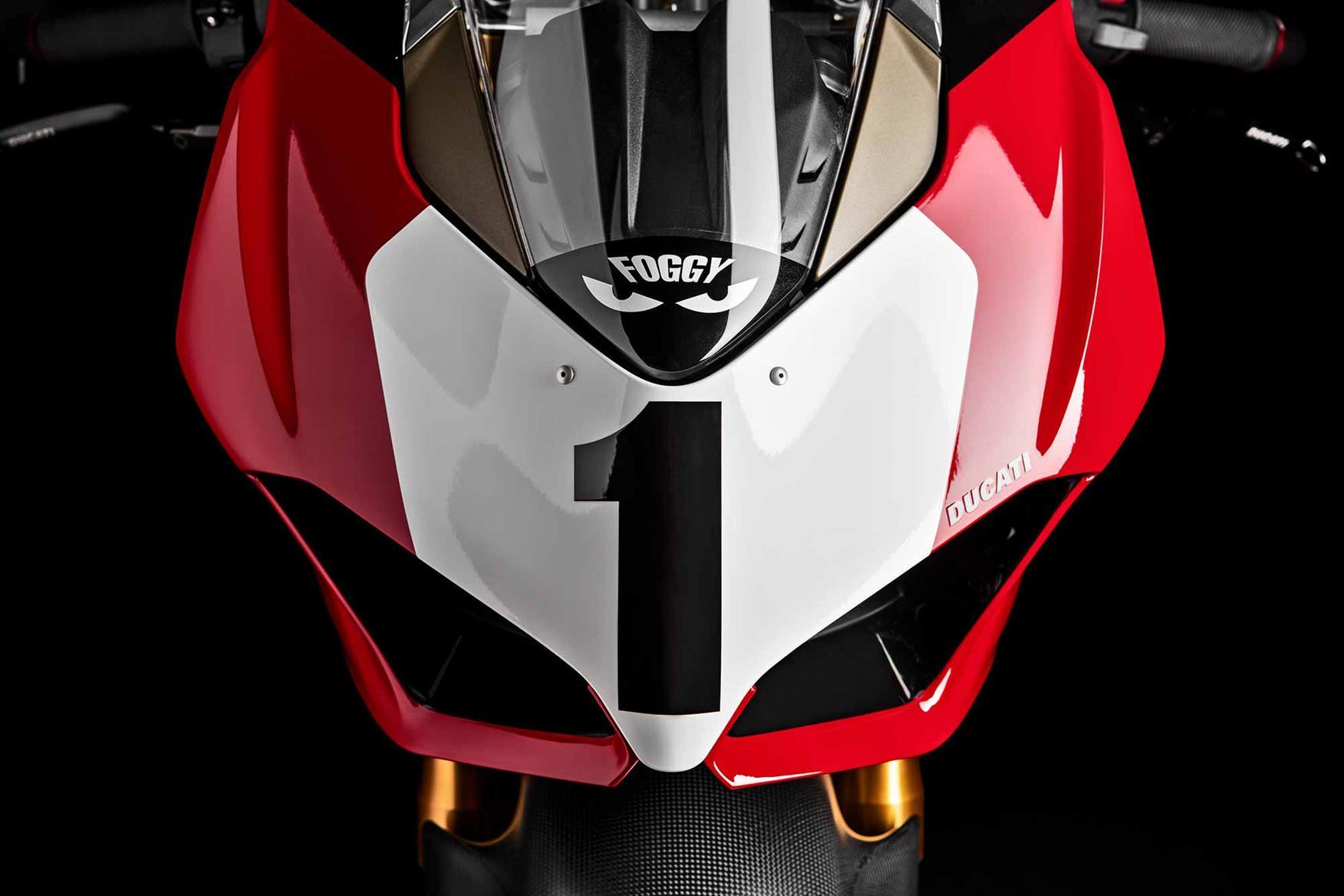 Ducati Panigale V4 25° Anniversario 916 front end