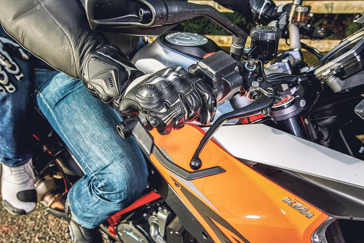 Precise throttle control is an important skill when riding with a pillion