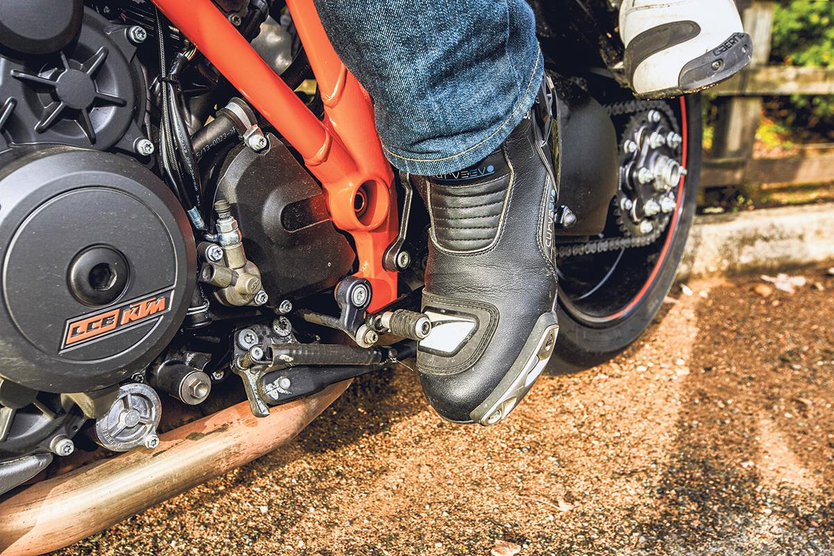 Take care with your gear shifts to keep things smooth