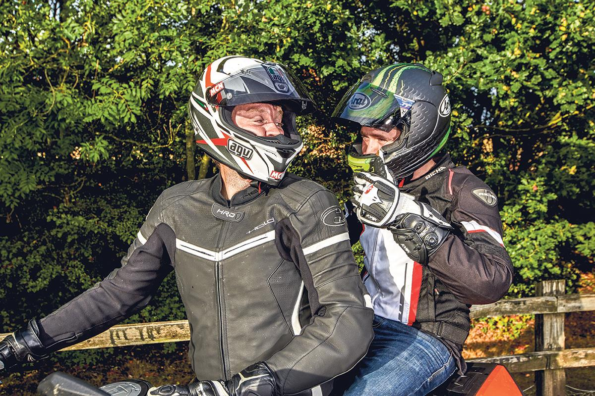 A briefing is a very important aspect of riding with a pillion