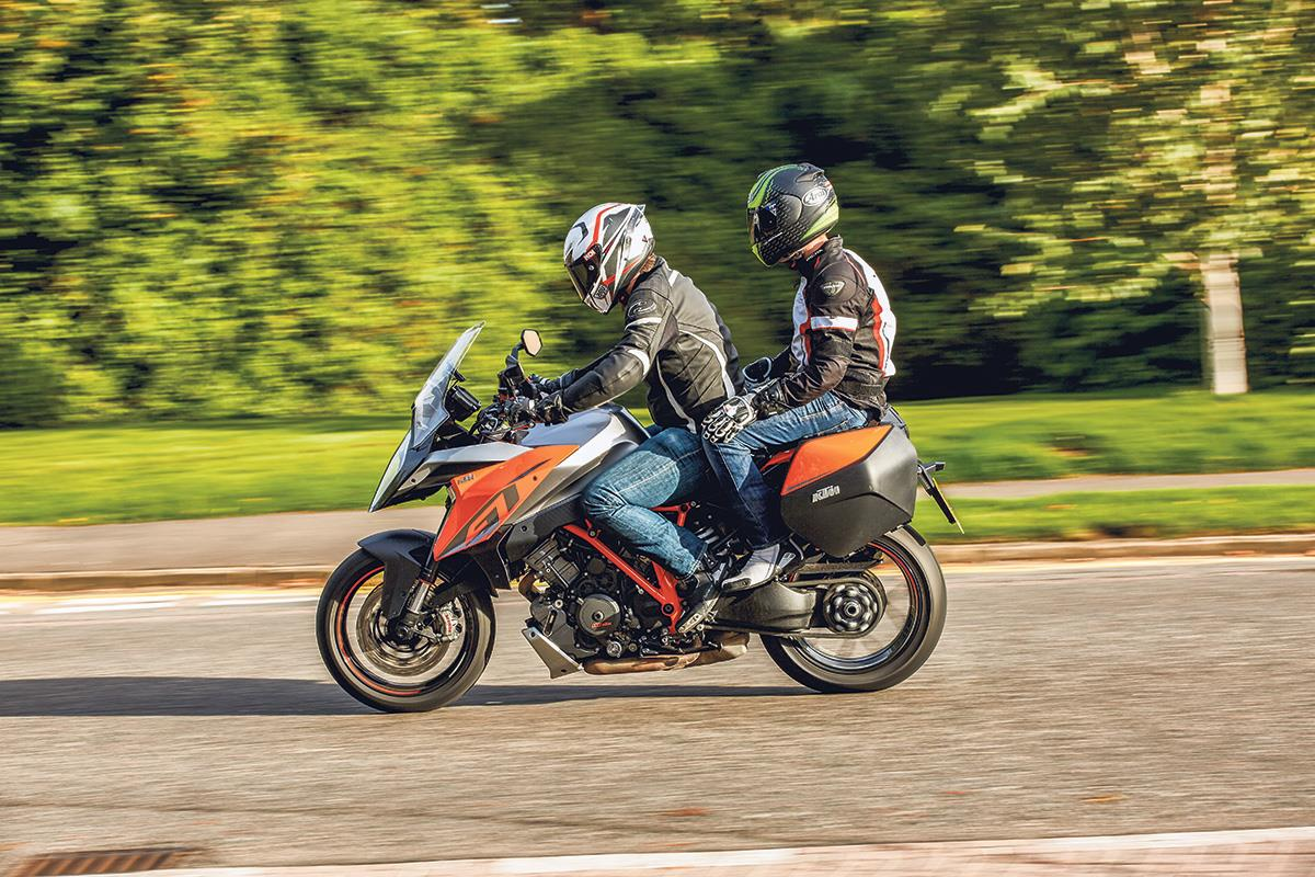Clothing is important for both you and your pillion passenger