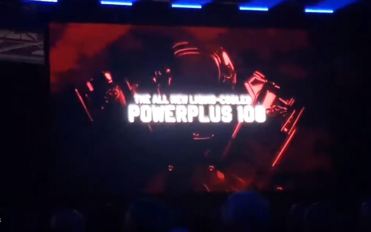 Powerplus 108 engine