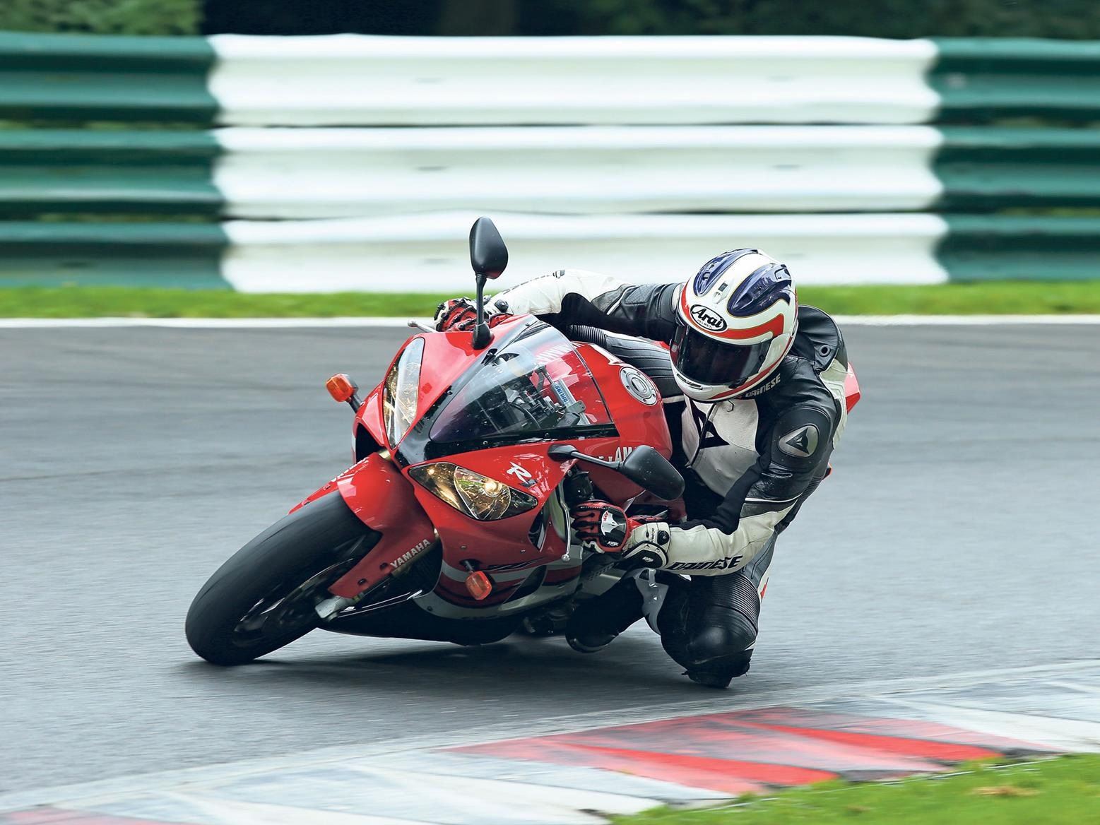 A trackday is a great situation in which to test your new suspension setup