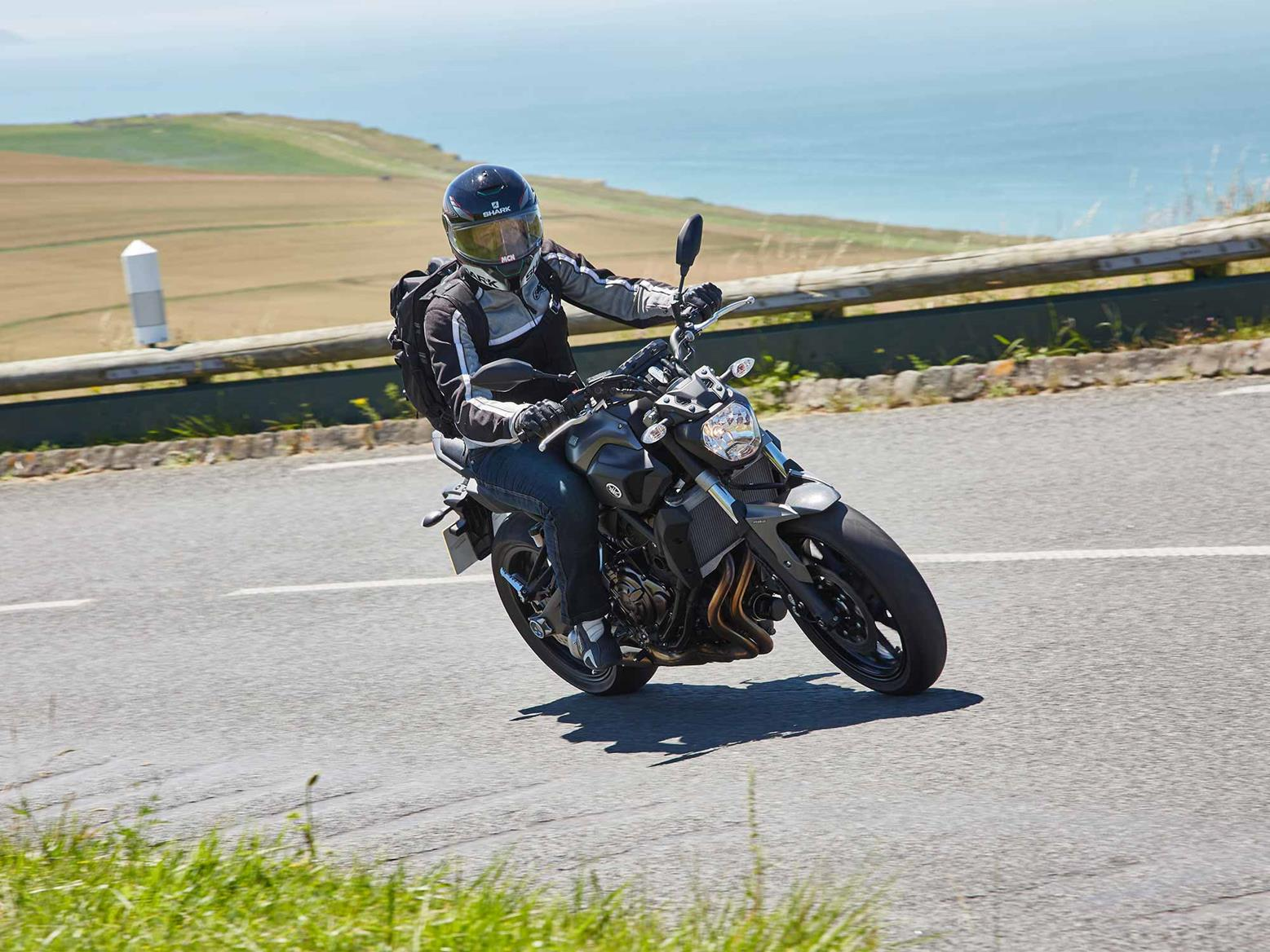 Riding a 2016 Yamaha MT-07