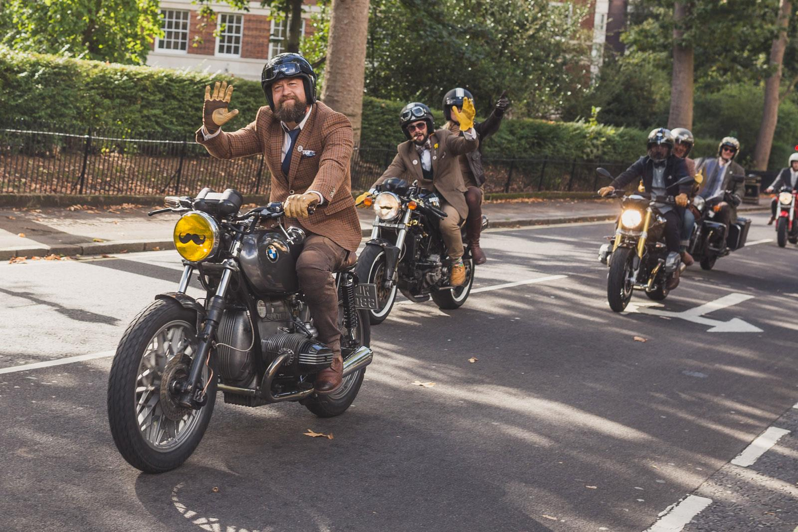 Distinguished Gentleman's Ride 2015 tweed