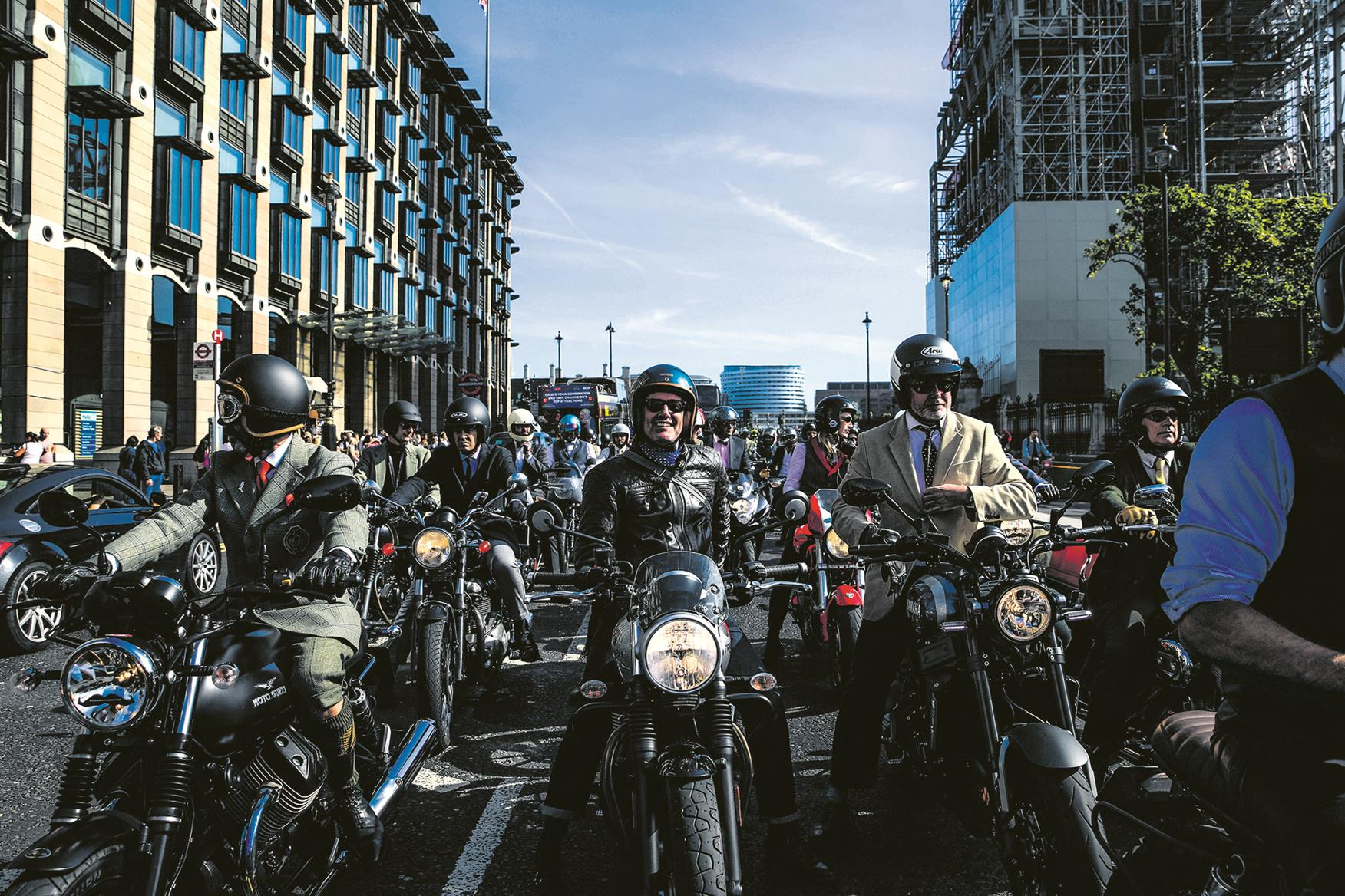 Distinguished Gentleman's Ride 2018 London