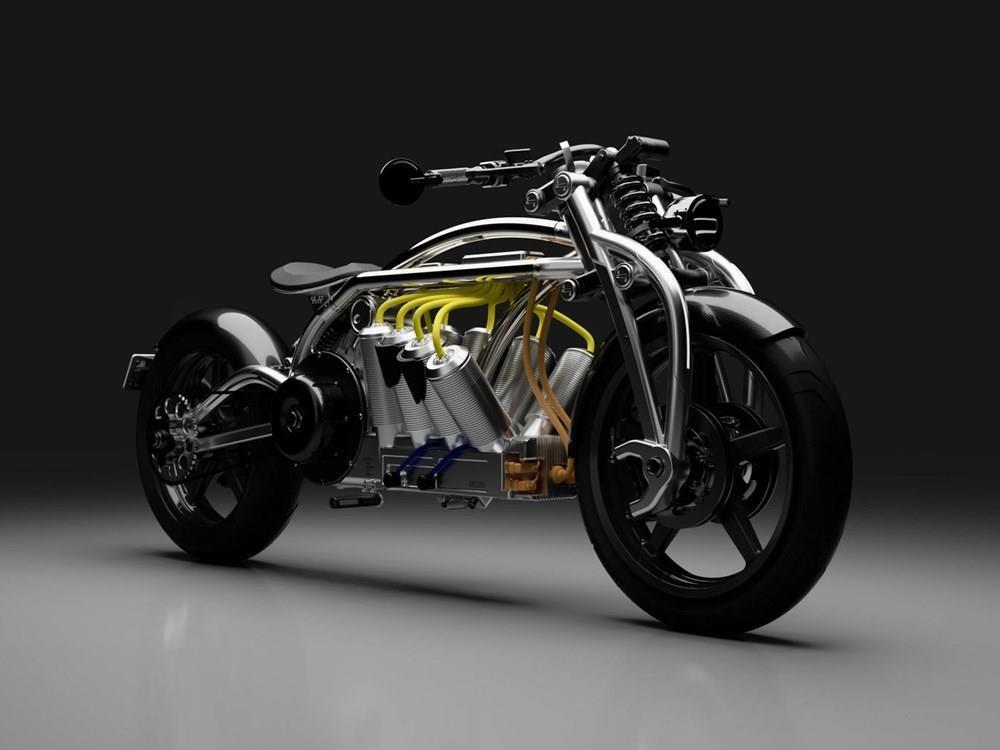 These concept bikes from Curtiss are certainly innovative...