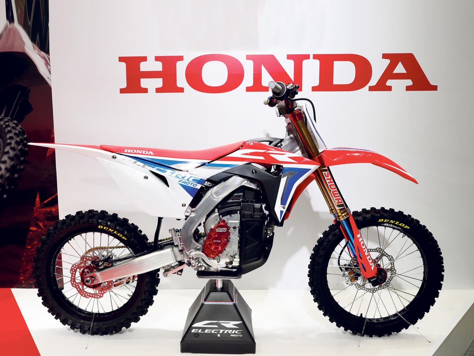 Honda CR-E electric motocross bike
