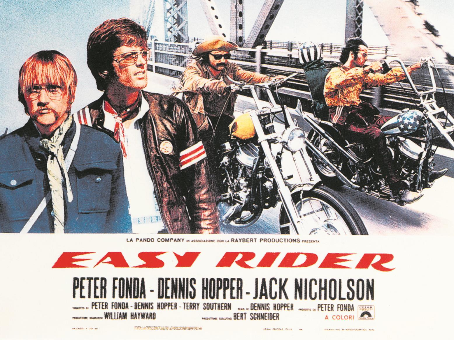 Original Easy Rider film poster