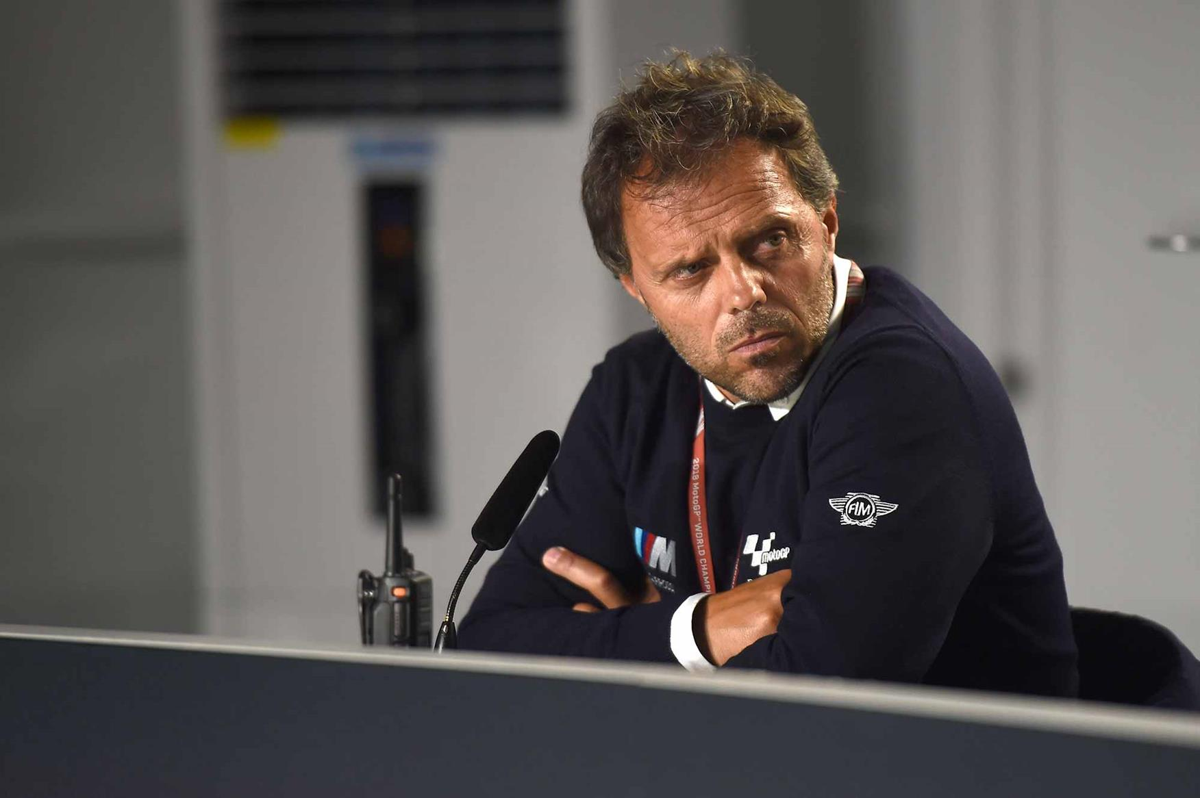 Loris Capirossi tried the new Daytona at Silverstone
