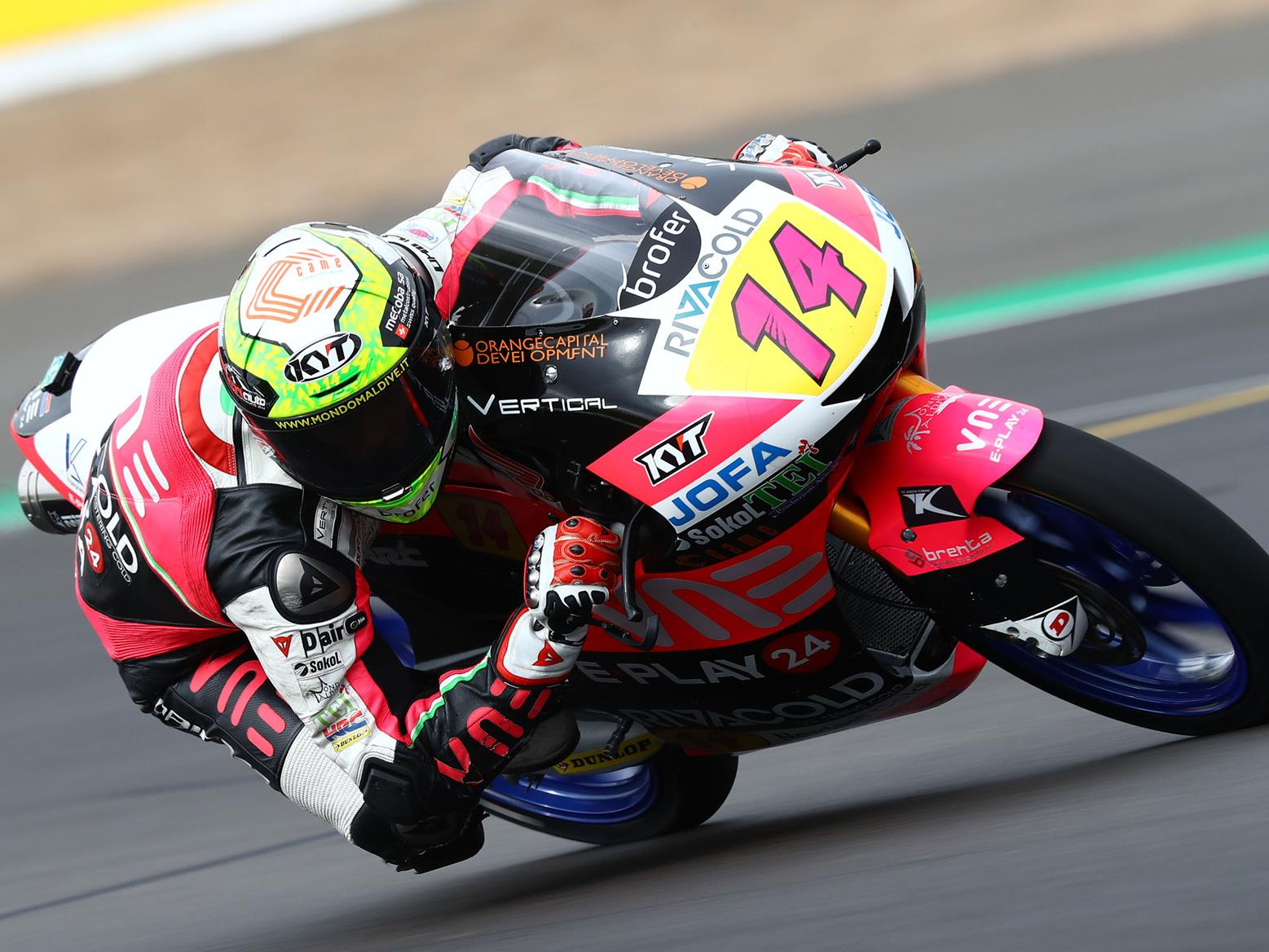 Arbolino tops Silverstone Moto3 FP3