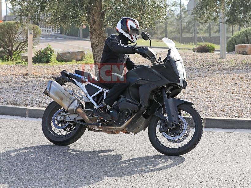 KTM 1290 Super Adventure spied in testing
