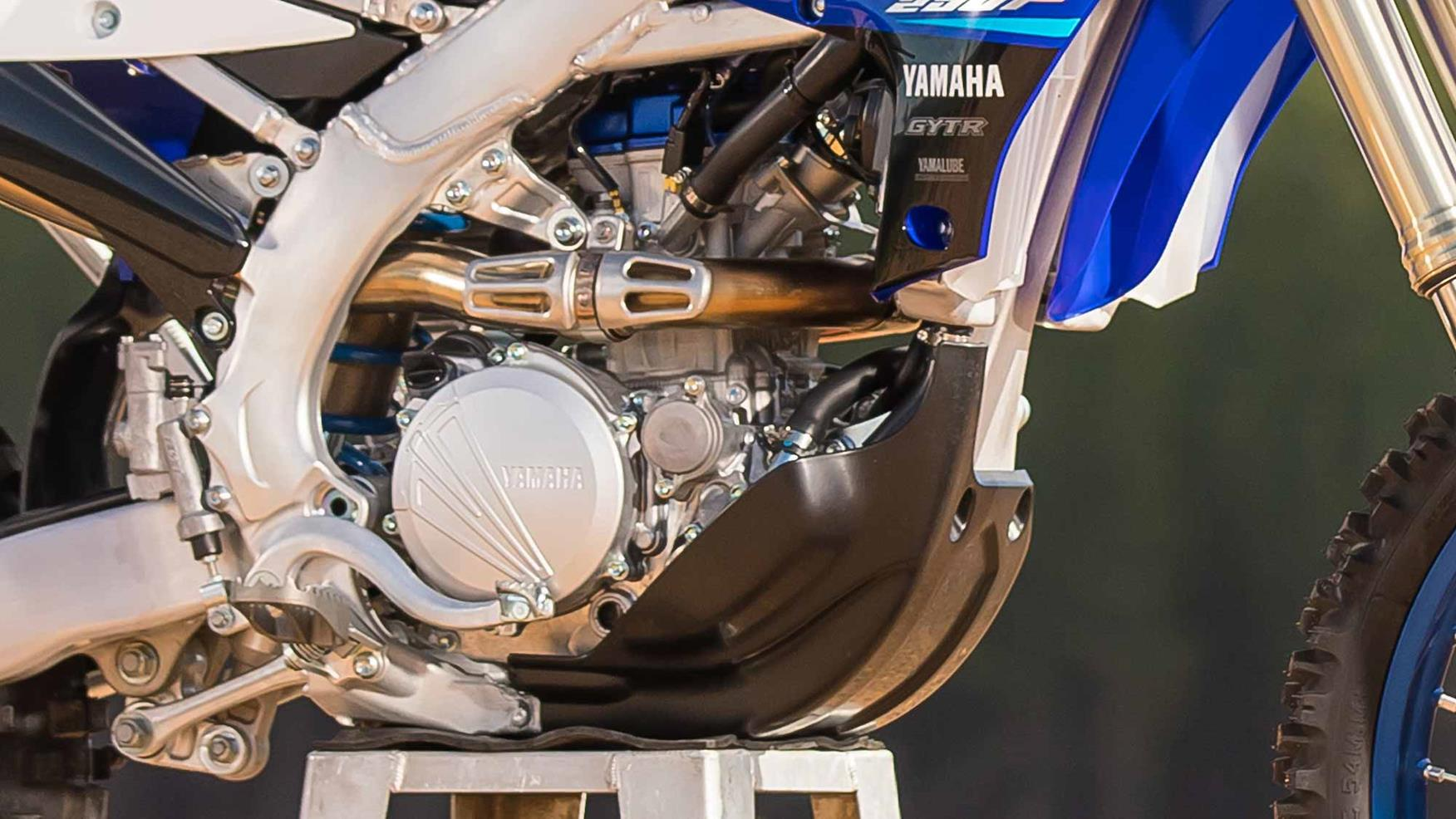 2020 Yamaha WR250F engine
