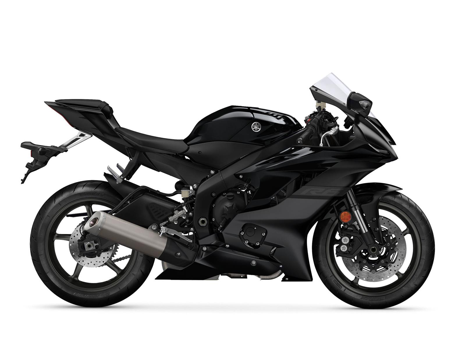 Yamaha R6 Midnight Black