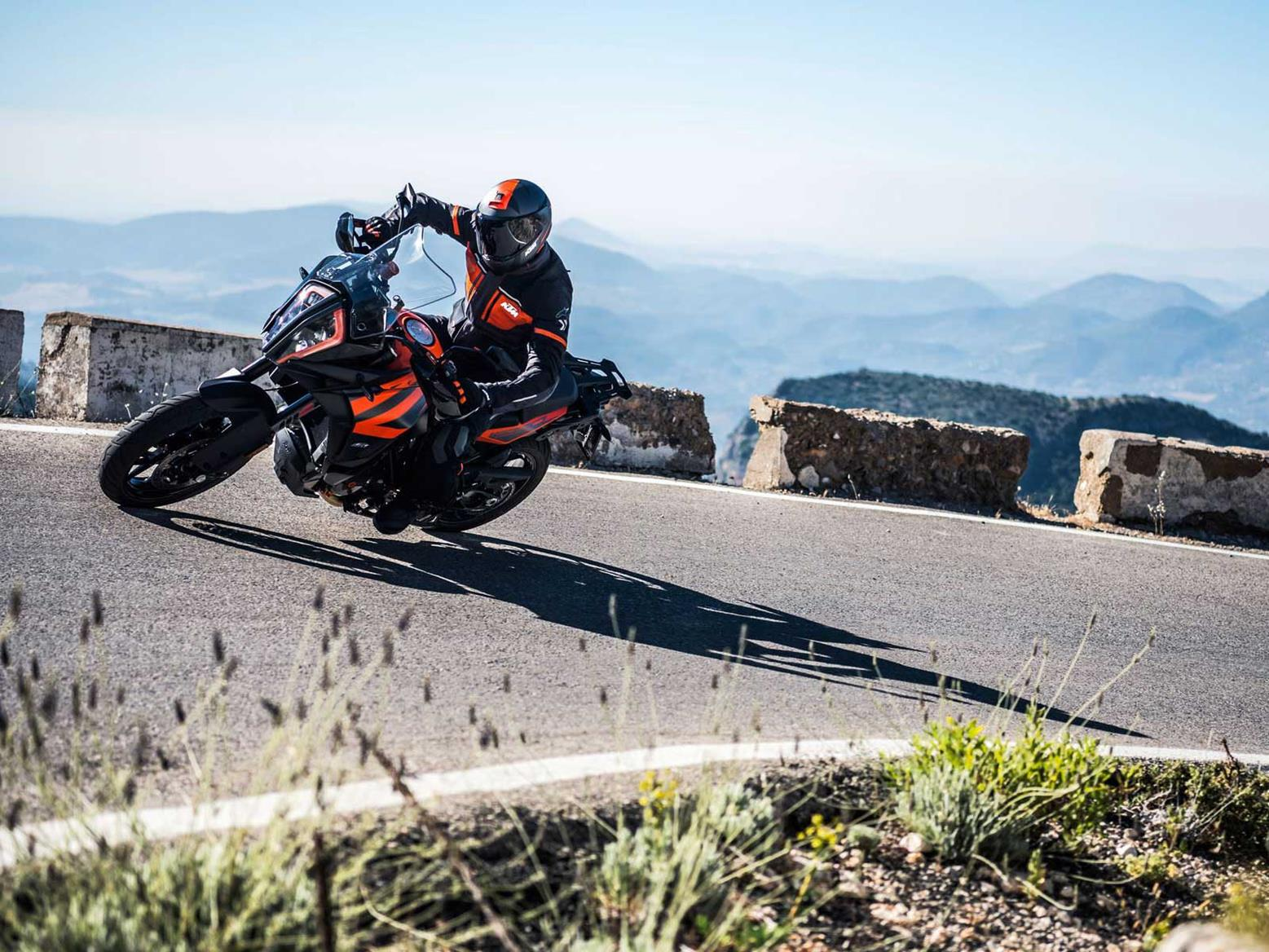 The KTM 1290 Super Adventure has power and poise