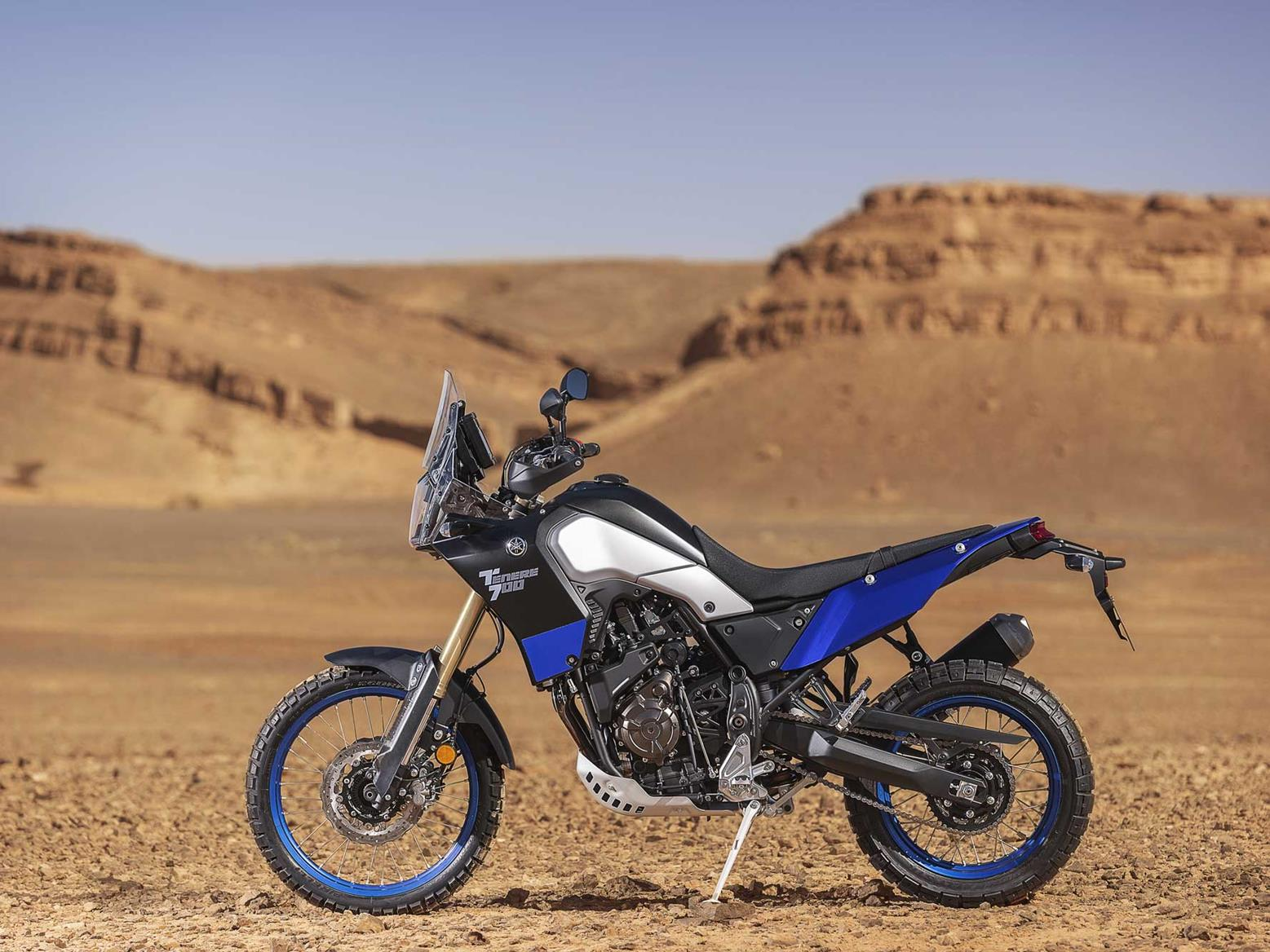 The Yamaha Teneré 700 looks the business