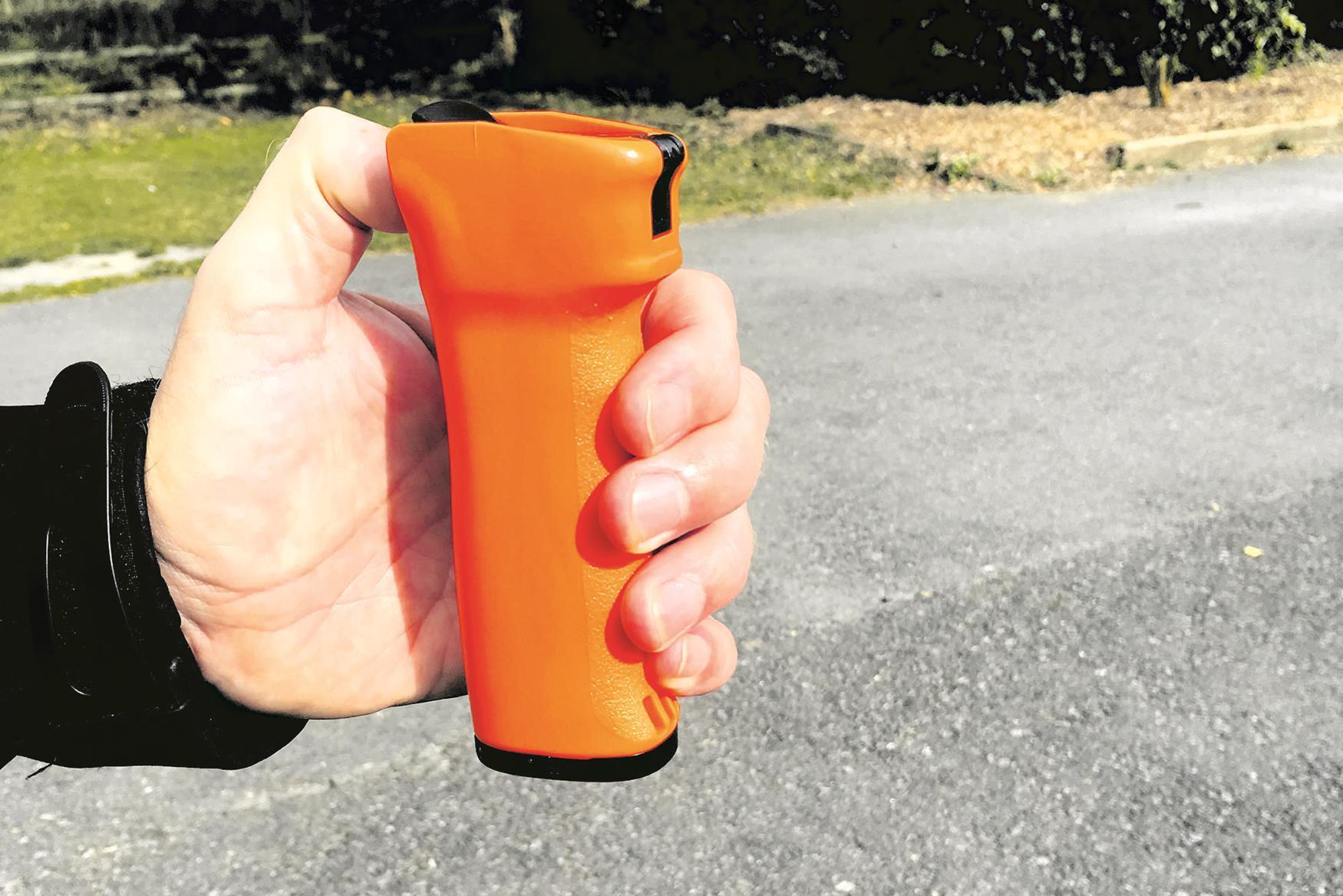 A DNA spray dispenser