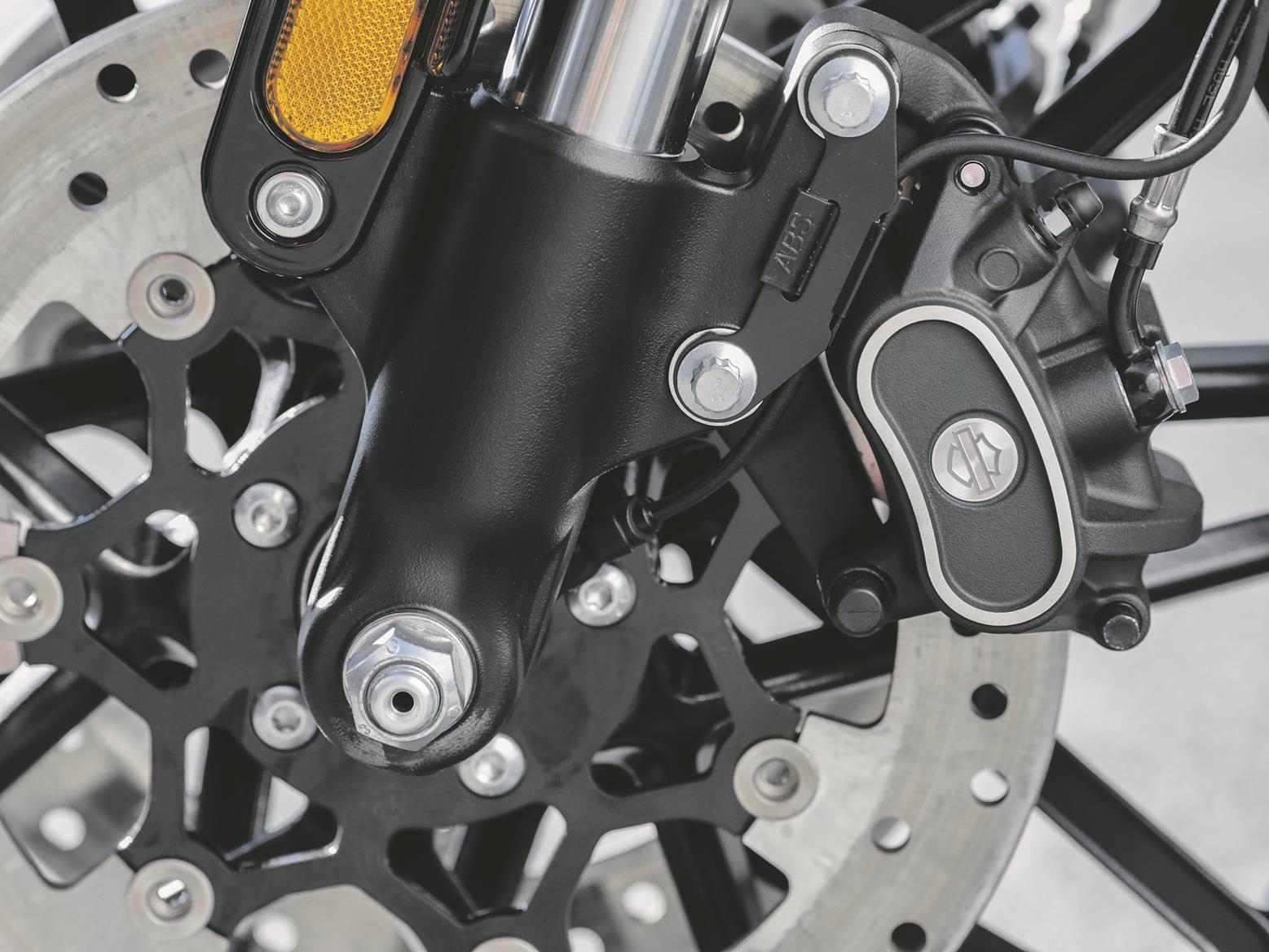 Harley-Davidson Roadster 1200 front brake