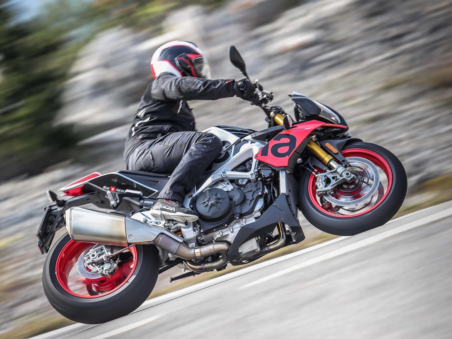 The Aprilia Tuono has always been top of the naked pile
