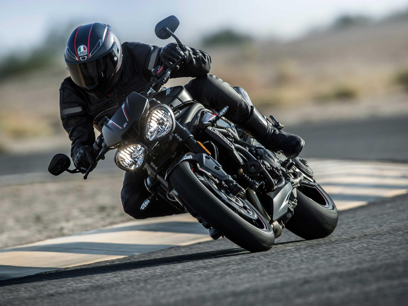 Big, bad and full of torque, the Triumph Speed Triple has a lot to offer