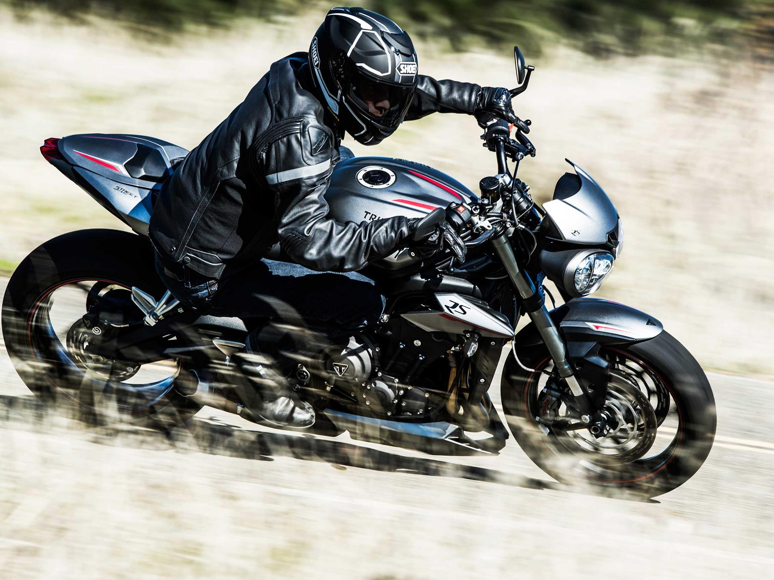 The Triumph Street Triple RS is the ideal mix of power and poise
