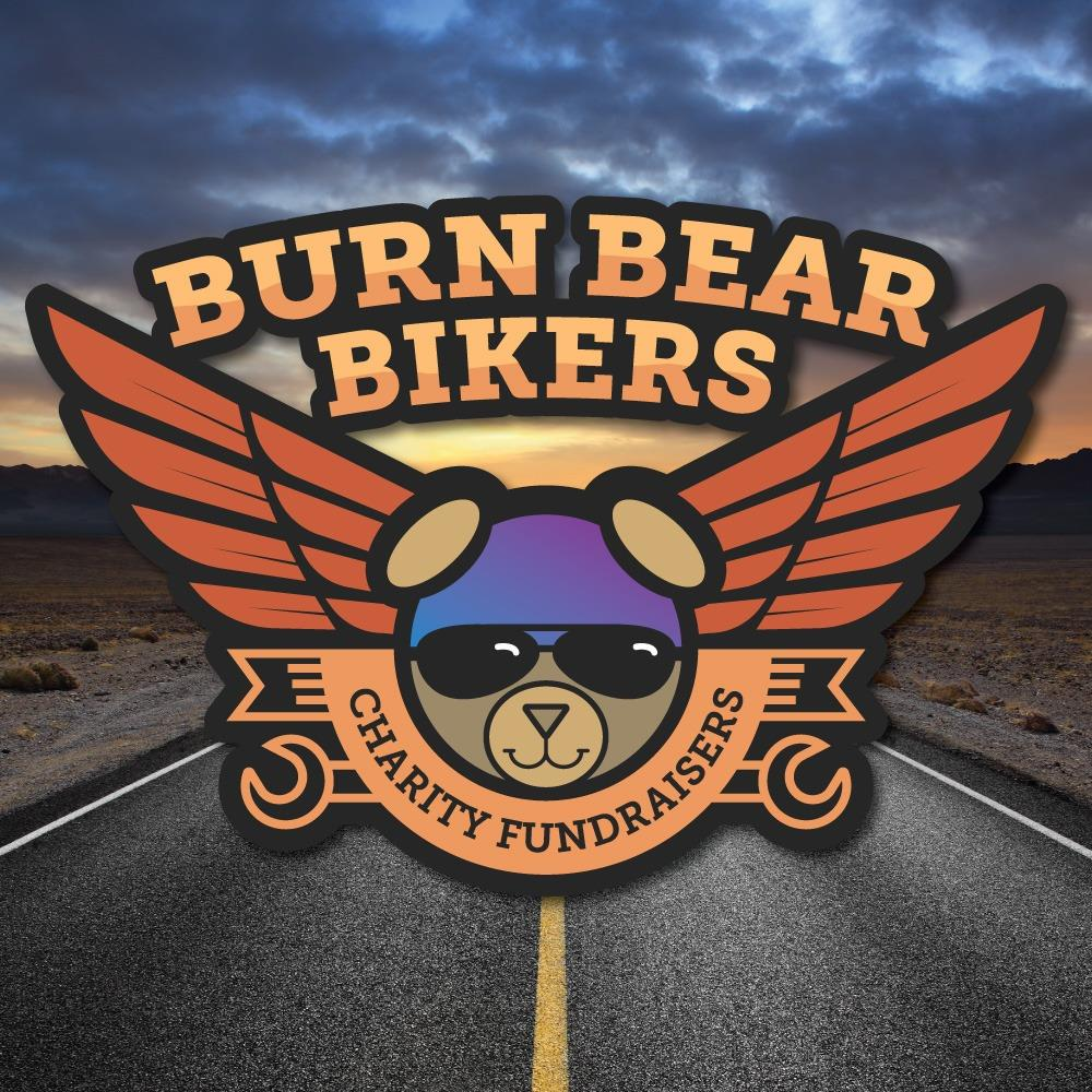 The Burn Bear Bikers logo