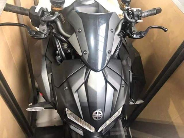 Leaked pictures show the Kawasaki Z H2
