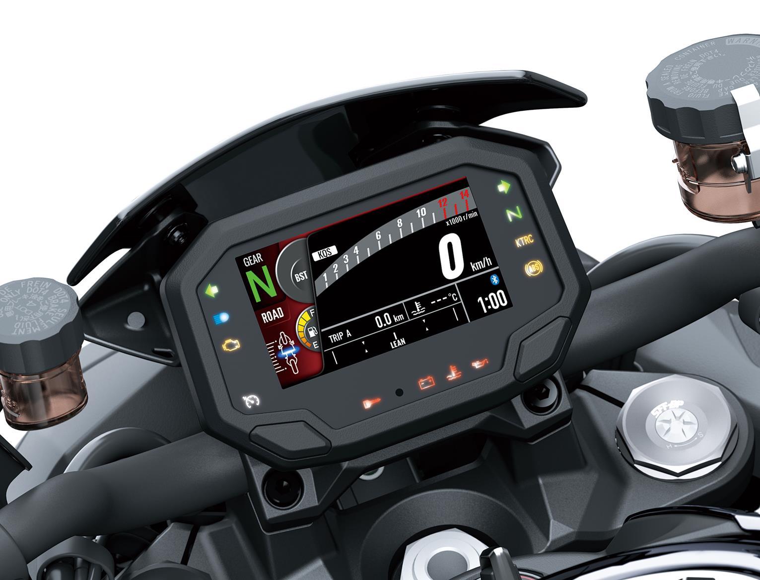 Kawasaki Z H2 TFT clocks