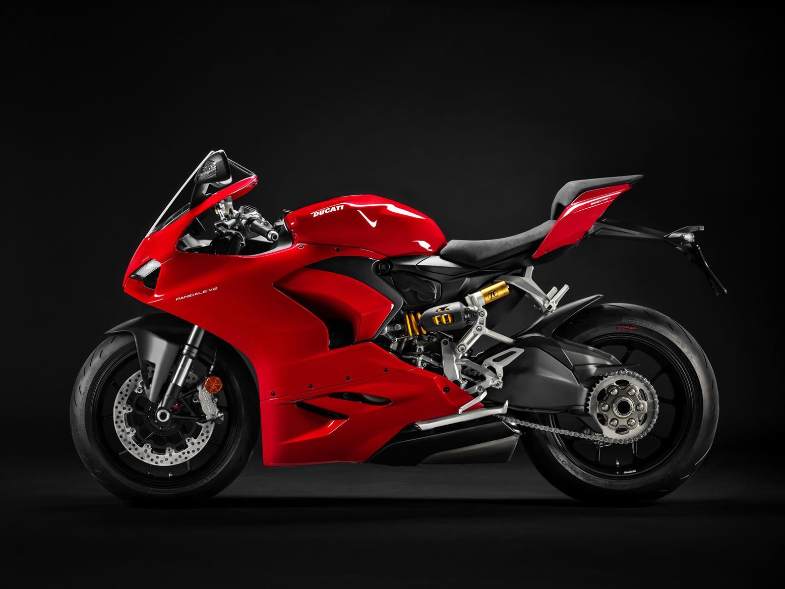 Ducati Panigale V2 side profile