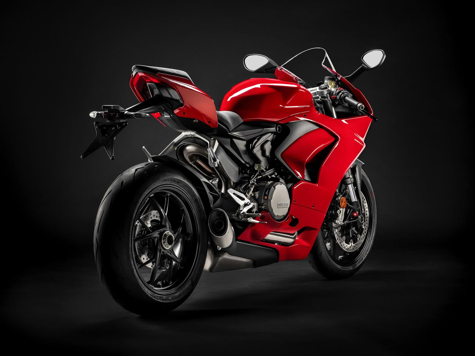Ducati Panigale V2 rear end, exhaust and tail