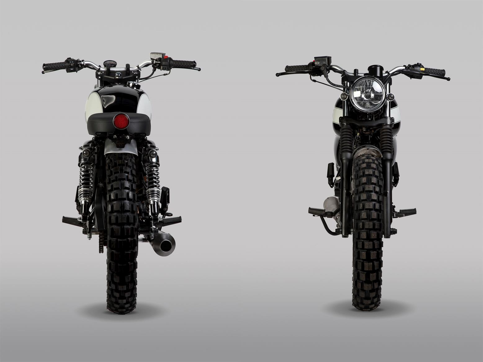 Mutt GT-SS 125 front and rear